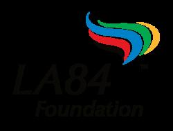 LA84 5-Flame Logo