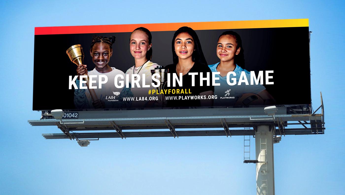 LA84 City Billboard