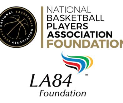 NBPA + LA84 Graphic