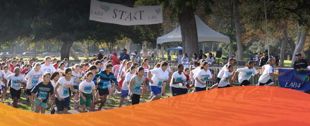 The nation's biggest middle school cross country program trains LA County students to run and compete in a 10-week program.