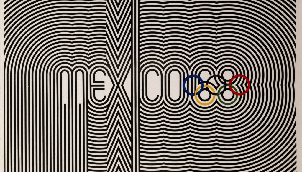 Games of the XIX Olympiad, Mexico City 1968 Primary Poster