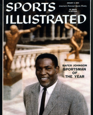 Rafer Johnson on the cover of Sports Illustrated