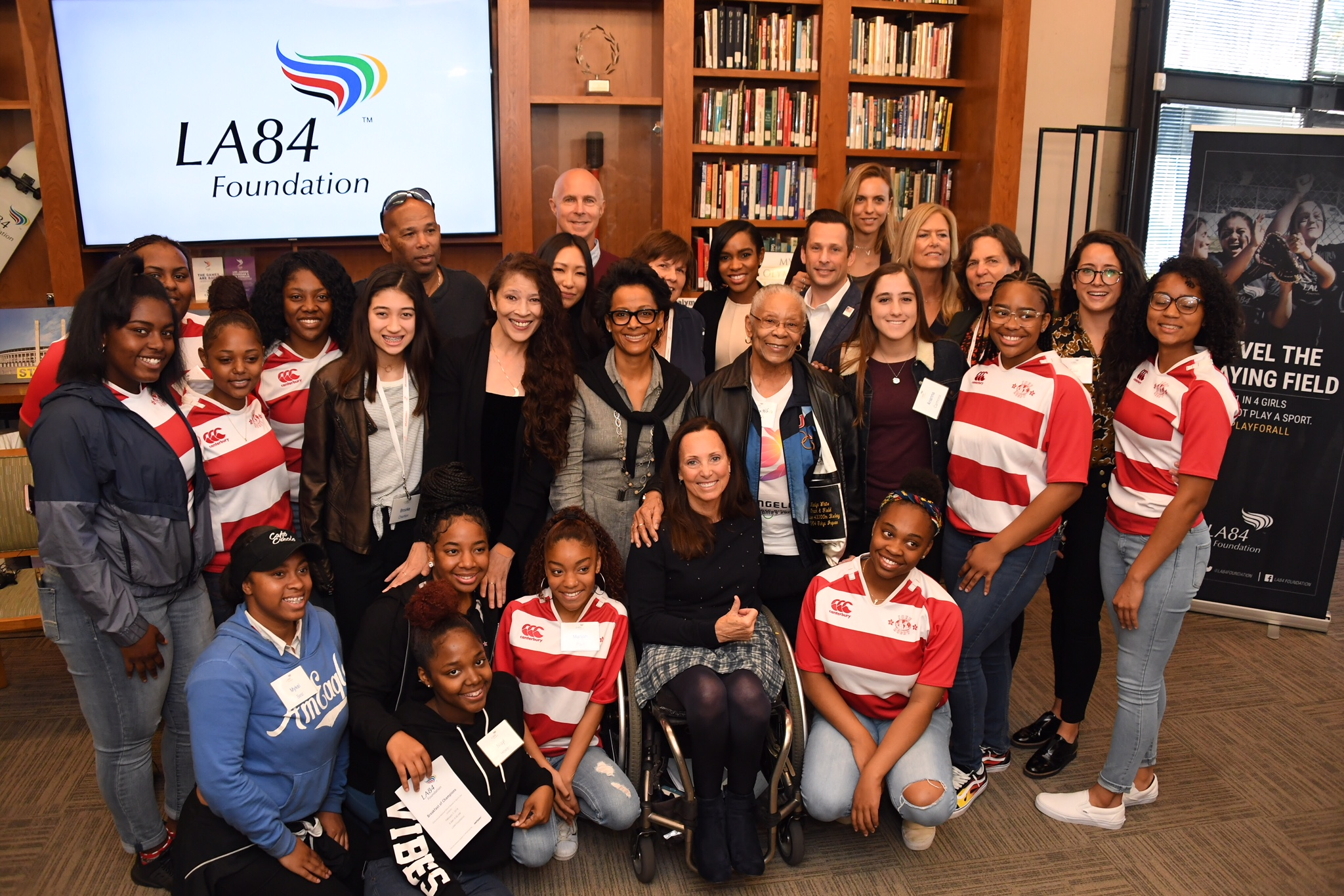 LA84 Hosts Inspirational National Girls & Women In Sports Day Panel
