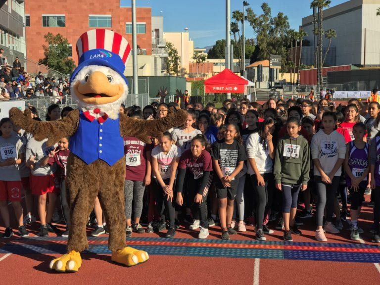 LA84 Hosts Nearly 700 Youth at 2018 Run4Fun Races - LA84