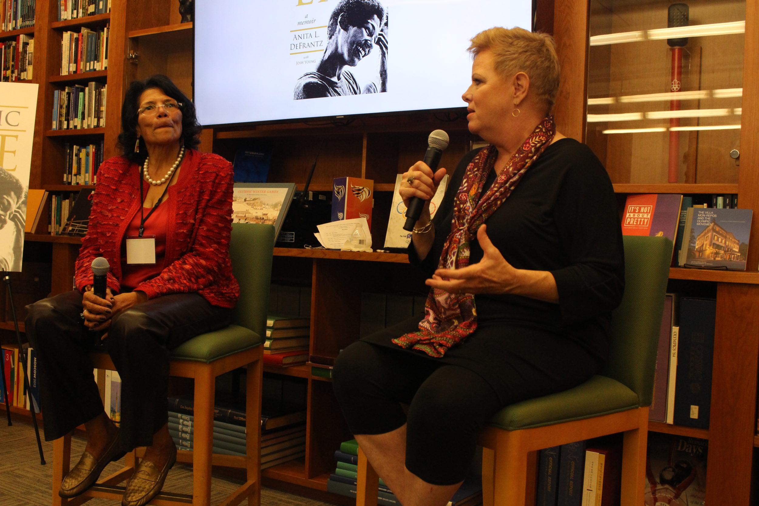 LA84 Hosts Book Launch Reception For Anita DeFrantz