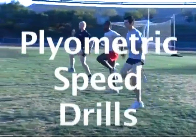 Learn plyometric drills to improve speed.