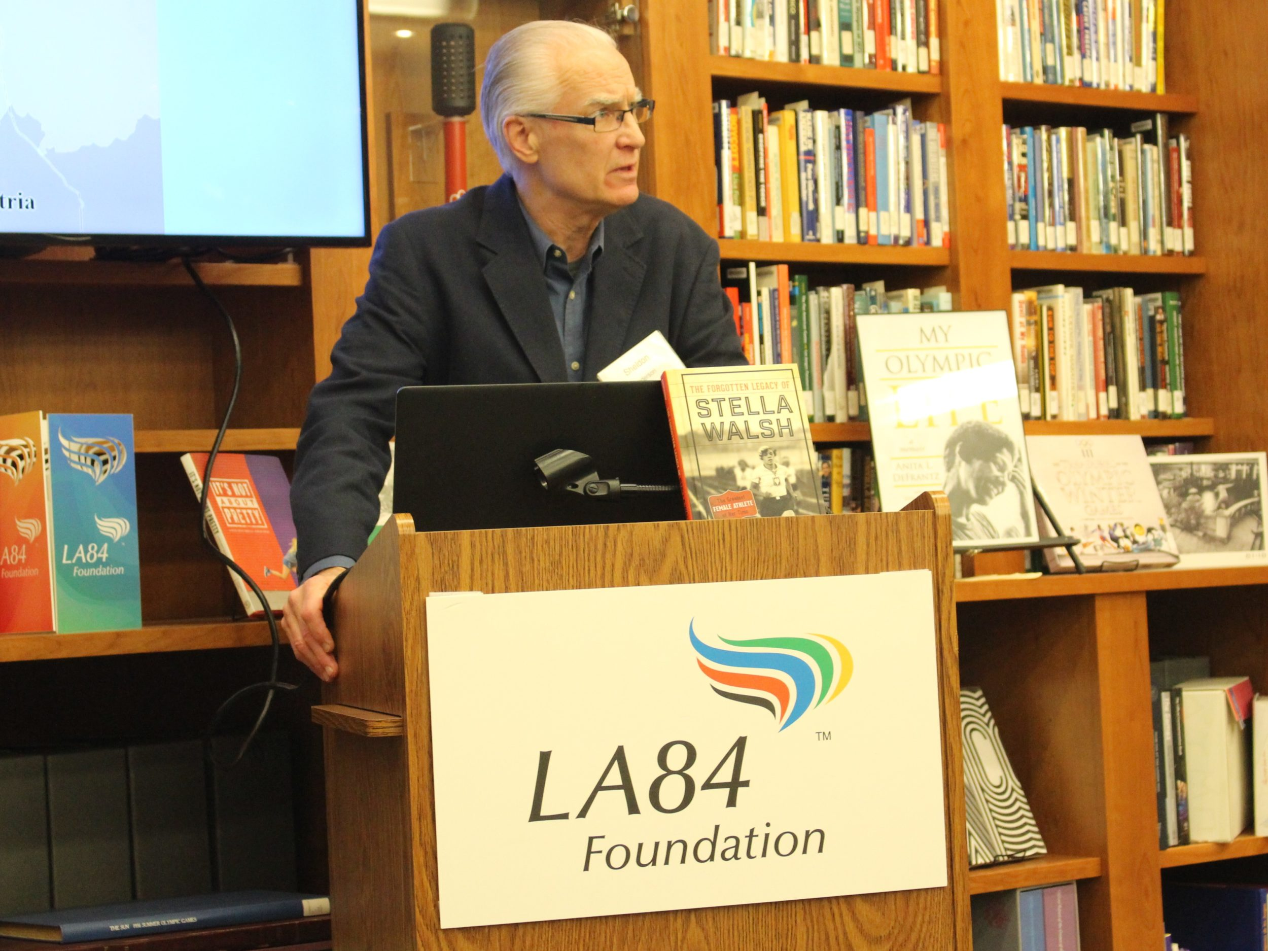 LA84 Hosts Book Talk On Stella Walsh