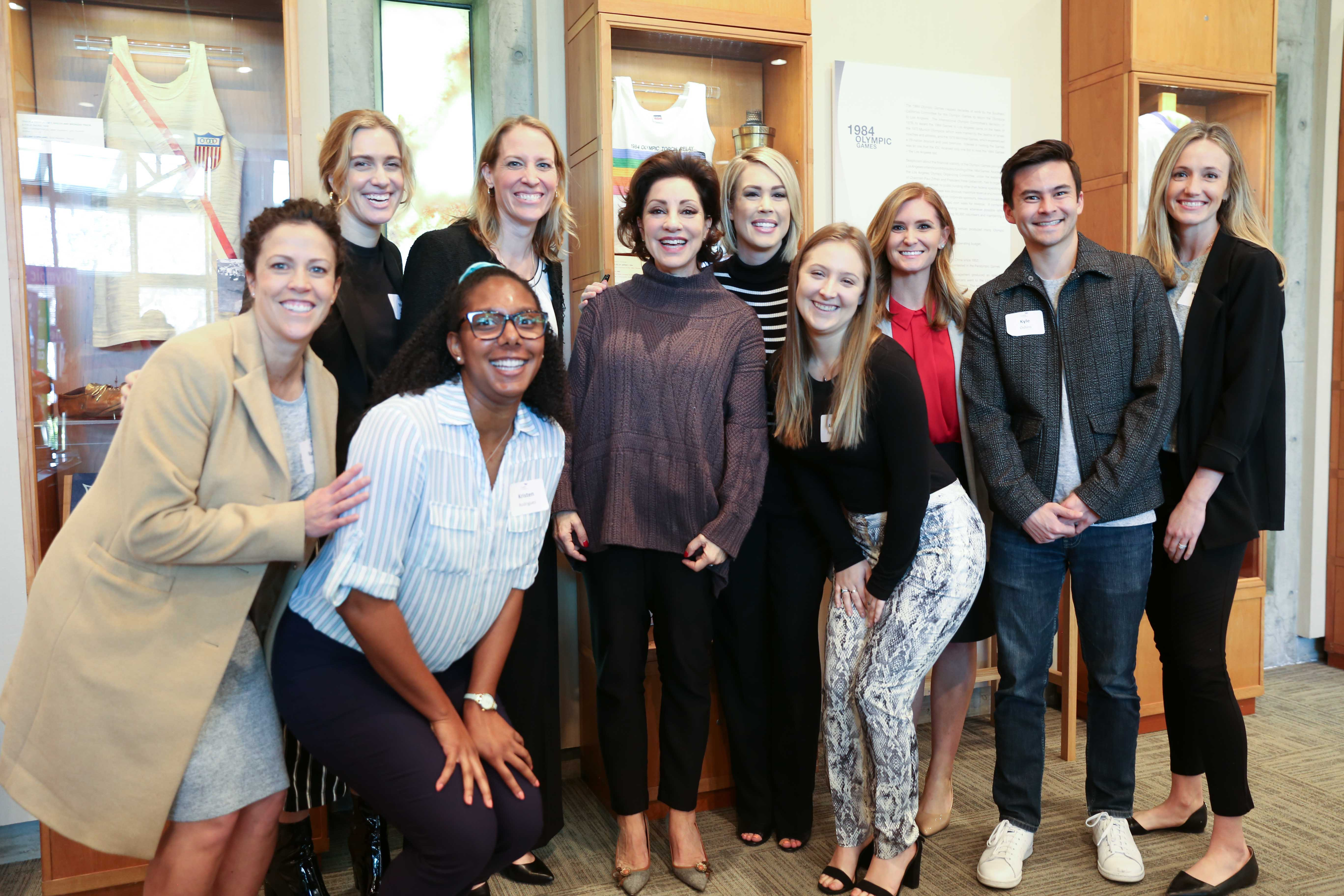 LA84 Hosts Seven-Time NCAA National Champion Valorie Kondos Field on National Girls & Women in Sports Day