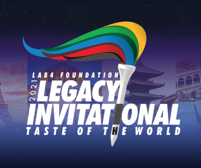 LA84 logo Taste of World website photo, v1
