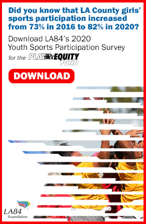 LA84 news and features Youth sports survey image