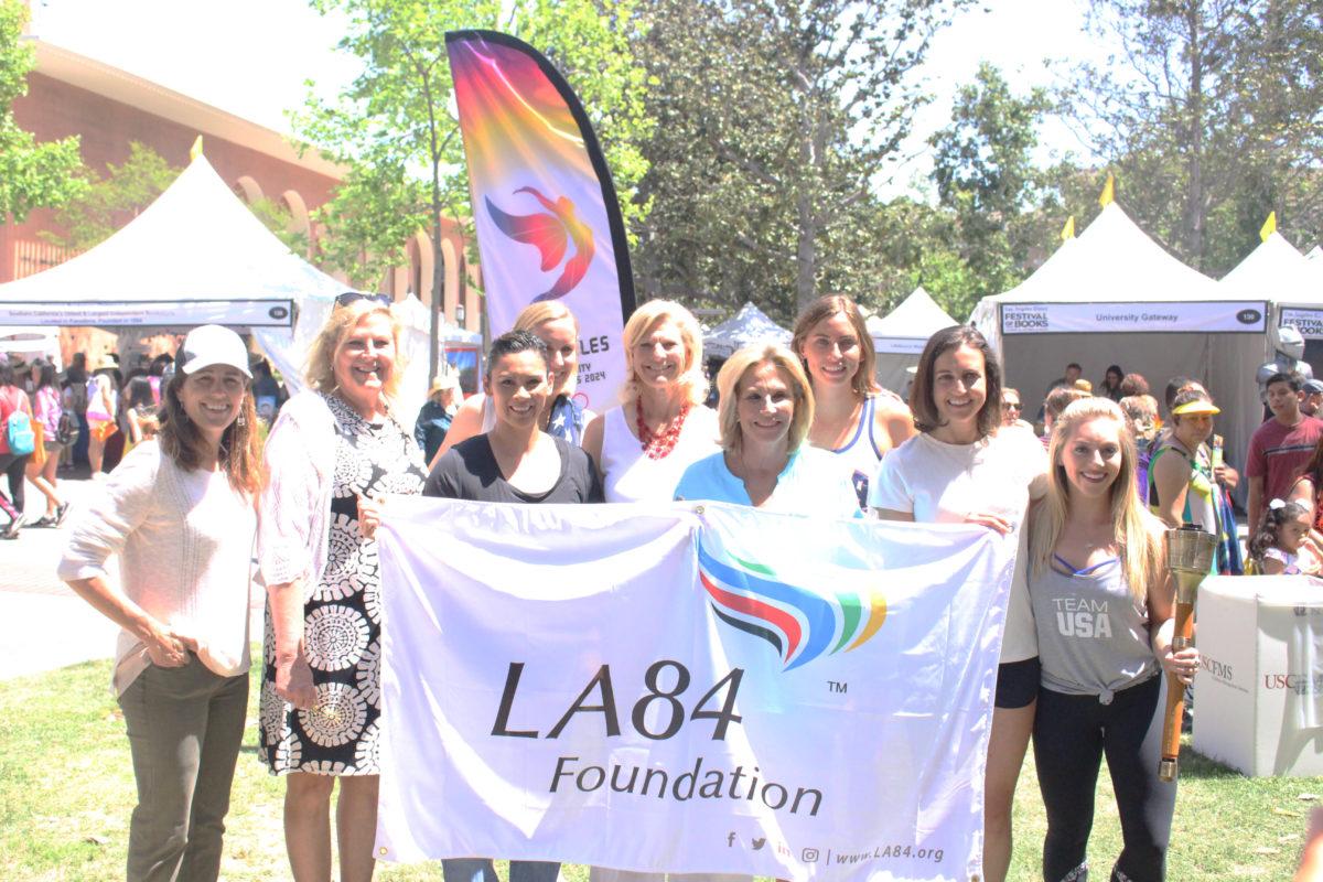 LA84, LA 2024 Show Power of Olympic Movement at Festival of Books