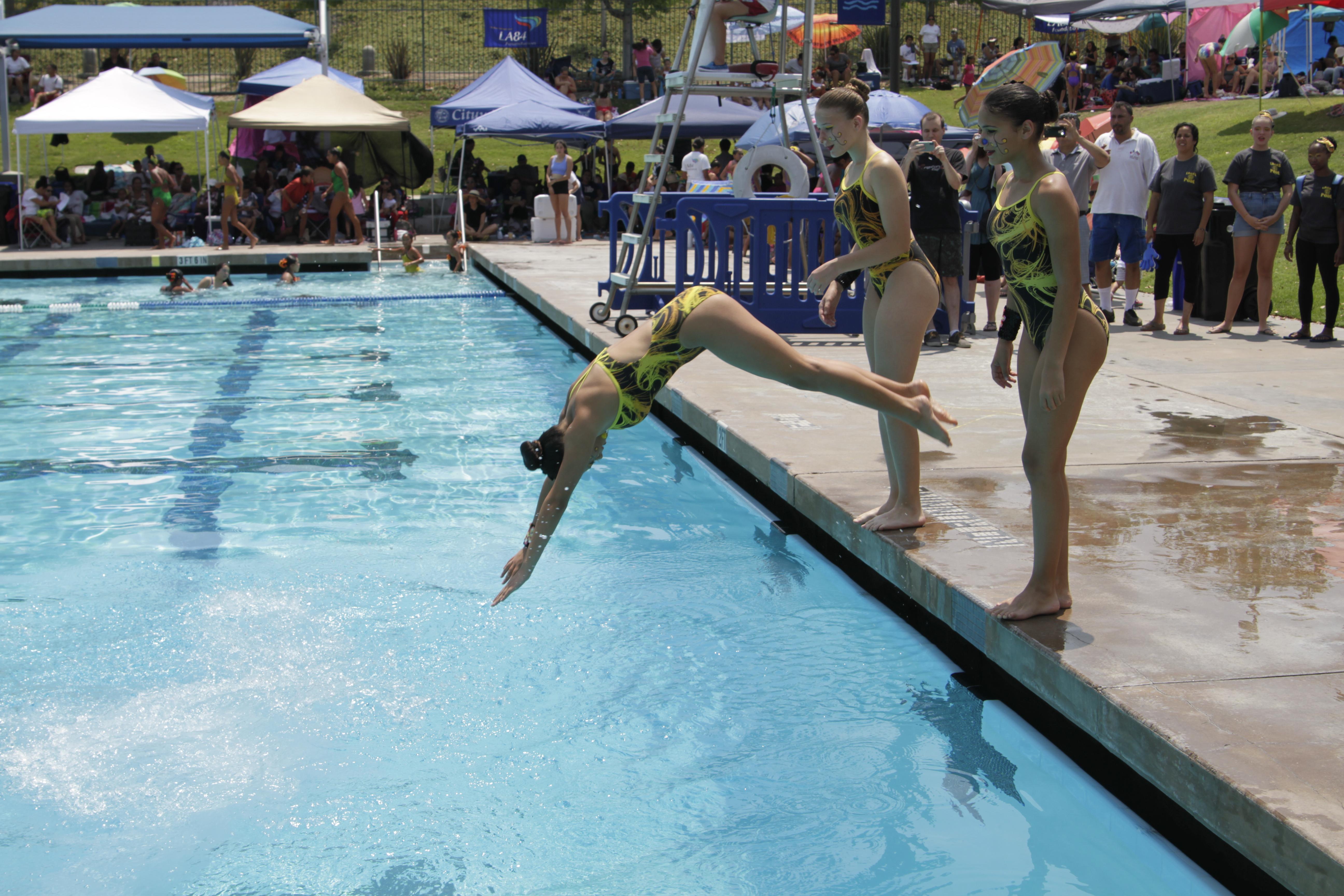 Summer Aquatics - LA84 Foundation