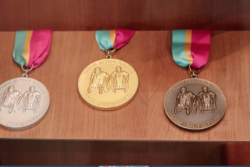 Medal - library piece