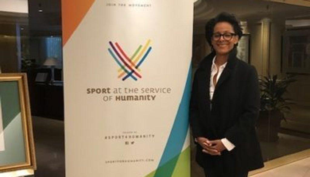 Renata Simril Named Global Mentor - LA84 Foundation