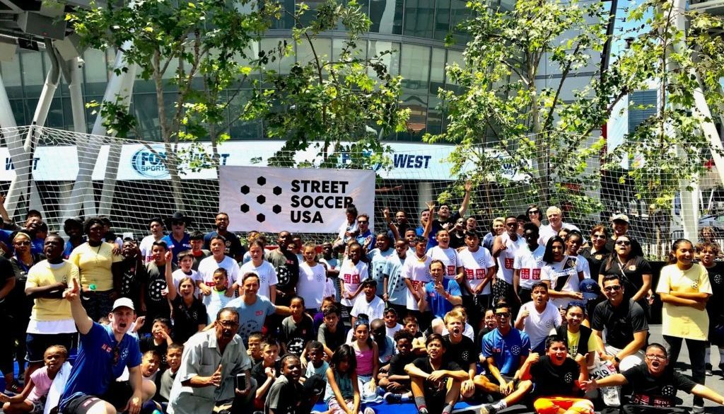 511d248abe3 Street Soccer USA takes over L.A. Live - LA84 Foundation