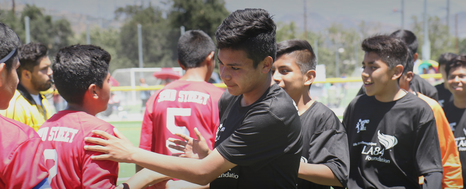 The LA84 Foundation funds youth sports in Southern California, trains coaches, and examines the role of sport in society and life.