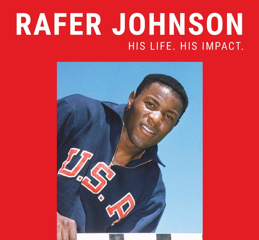 Rafer Johnson: His Life  His Impact  - LA84 Foundation